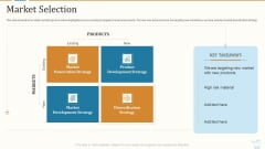 Marketing Strategies For Retail Store Market Selection Slide Microsoft PDF