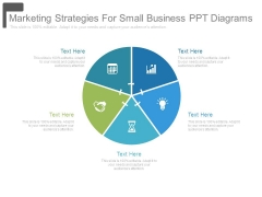 Marketing Strategies For Small Business Ppt Diagrams