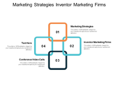 Marketing Strategies Inventor Marketing Firms Conference Video Calls Ppt PowerPoint Presentation Summary Infographics