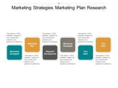 Marketing Strategies Marketing Plan Research Development Marketing Strategies Ppt PowerPoint Presentation Layouts Design Templates