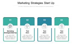 Marketing Strategies Start Up Ppt PowerPoint Presentation Styles Brochure Cpb