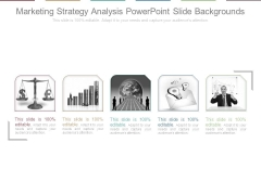 Marketing Strategy Analysis Powerpoint Slide Backgrounds