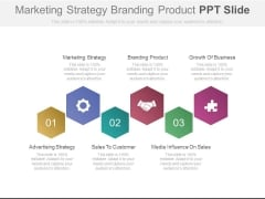 Marketing Strategy Branding Product Ppt Slide