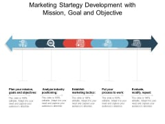 Marketing Strategy Development With Mission Goal And Objective Ppt PowerPoint Presentation Icon Slides PDF