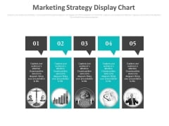 Marketing Strategy Display Chart Ppt Slides
