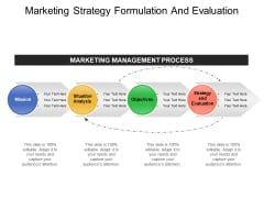 Marketing Strategy Formulation And Evaluation Ppt PowerPoint Presentation Model Picture
