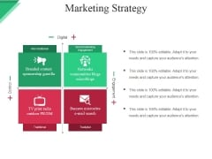 Marketing Strategy Ppt PowerPoint Presentation Gallery Examples