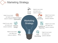 Marketing Strategy Ppt PowerPoint Presentation Introduction