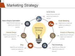 Marketing Strategy Ppt PowerPoint Presentation Portfolio Show