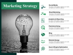 Marketing Strategy Ppt PowerPoint Presentation Visual Aids Deck