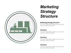 Marketing Strategy Structure Ppt PowerPoint Presentation Professional Templates Cpb