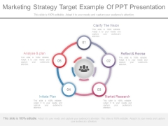 Marketing Strategy Target Example Of Ppt Presentation