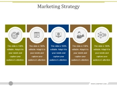Marketing Strategy Template 1 Ppt PowerPoint Presentation Shapes