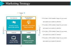 Marketing Strategy Template 2 Ppt Powerpoint Presentation Gallery Ideas