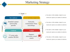 Marketing Strategy Template 2 Ppt PowerPoint Presentation Ideas Influencers