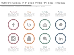 Marketing Strategy With Social Media Ppt Slide Templates