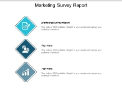 Marketing Survey Report Ppt PowerPoint Presentation Slides Backgrounds Cpb