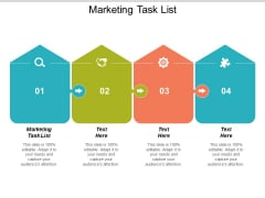 Marketing Task List Ppt Powerpoint Presentation Model Slide Portrait Cpb