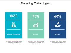 Marketing Technologies Ppt PowerPoint Presentation Portfolio Brochure Cpb