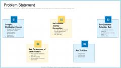 Marketing Technology Stack Problem Statement Graphics PDF