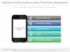 Marketing Timeline Graphics Design Presentation Backgrounds