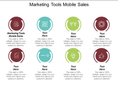 Marketing Tools Mobile Sales Ppt PowerPoint Presentation Ideas Show Cpb