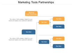 Marketing Tools Partnerships Ppt PowerPoint Presentation Pictures Brochure