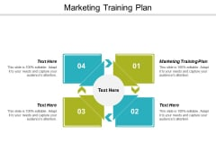 Marketing Training Plan Ppt Powerpoint Presentation Styles Ideas Cpb