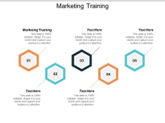 Marketing Training Ppt PowerPoint Presentation Outline Example Cpb