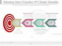 Marketing Value Proposition Ppt Design Templates