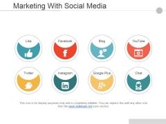 Marketing With Social Media Ppt PowerPoint Presentation File Slide Portrait