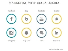 Marketing With Social Media Ppt PowerPoint Presentation Styles