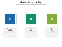 Marketplace Lending Ppt PowerPoint Presentation Icon Vector Cpb Pdf