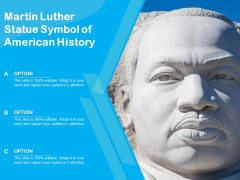 Martin Luther Statue Symbol Of American History Ppt PowerPoint Presentation File Layouts PDF