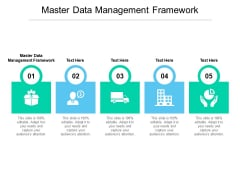 Master Data Management Framework Ppt PowerPoint Presentation Graphics Cpb Pdf