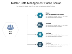 Master Data Management Public Sector Ppt PowerPoint Presentation Layouts Icon Cpb Pdf