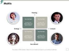 Matrix Four Team Communication Ppt Powerpoint Presentation Layouts Ideas