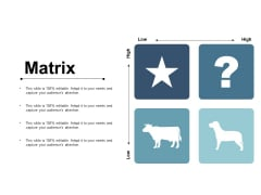 Matrix Marketing Planning Strategy Ppt PowerPoint Presentation Portfolio Layout Ideas