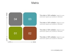 Matrix Ppt PowerPoint Presentation Clipart