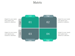 Matrix Ppt PowerPoint Presentation Design Ideas