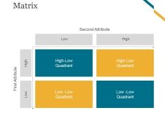 Matrix Ppt PowerPoint Presentation Gallery Slide Portrait