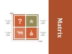 Matrix Ppt PowerPoint Presentation Guide