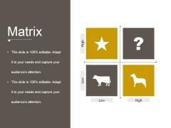 Matrix Ppt PowerPoint Presentation Ideas Graphics Template