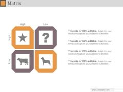 Matrix Ppt PowerPoint Presentation Ideas