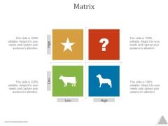 Matrix Ppt PowerPoint Presentation Influencers