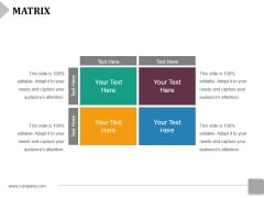 Matrix Ppt PowerPoint Presentation Infographic Template Demonstration