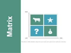 Matrix Ppt PowerPoint Presentation Infographic Template Picture
