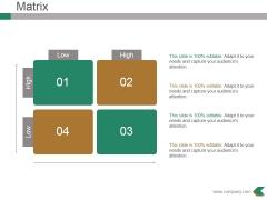 Matrix Ppt PowerPoint Presentation Inspiration Slide Portrait