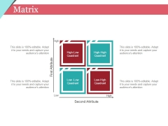Matrix Ppt PowerPoint Presentation Layouts Graphics Pictures
