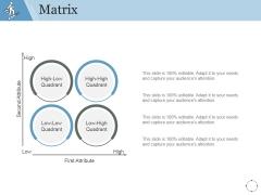Matrix Ppt PowerPoint Presentation Layouts Portrait